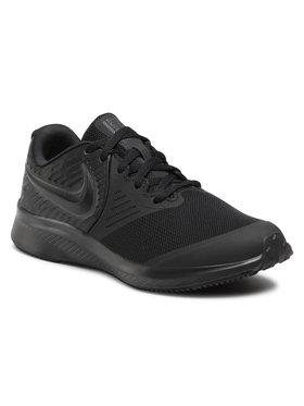 Nike Nike Обувки Star Runner 2 (GS) AQ3542 003 Черен