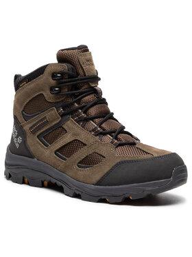 Jack Wolfskin Jack Wolfskin Trekingová obuv Vojo 2 Texapore Mid M 4042461 Zelená