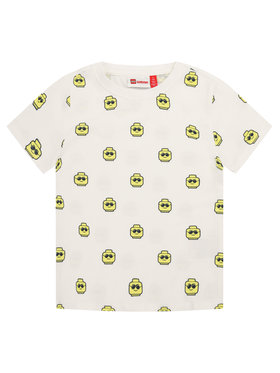 LEGO Wear LEGO Wear T-Shirt LETobias 301 22350 Biały Regular Fit