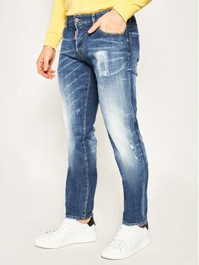 Dsquared2 Dsquared2 Slim Fit Jeans S74LB0717 S30342 Dunkelblau Slim Fit
