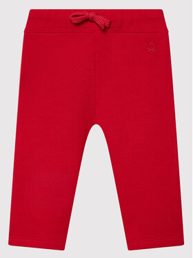 United Colors Of Benetton United Colors Of Benetton Pantalon jogging 3J70I0046 Rouge Regular Fit