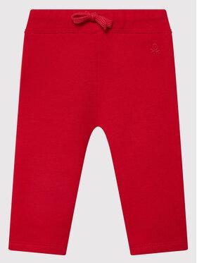 United Colors Of Benetton United Colors Of Benetton Teplákové kalhoty 3J70I0046 Červená Regular Fit