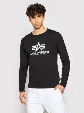 Alpha Industries Alpha Industries Тениска с дълъг ръкав Basic T-Ls 100510 Черен Standard Fit