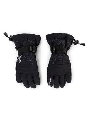 Spyder Spyder Lyžařské rukavice Boys Overweb 197046 Černá