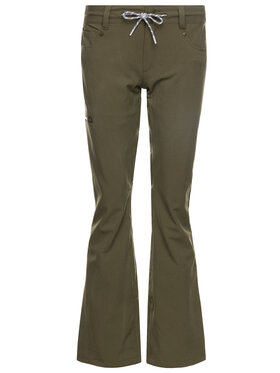 DC DC Pantaloni da snowboard EDJTP03022 Verde Tailored Fit