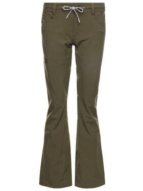 DC DC Spodnie snowboardowe EDJTP03022 Zielony Tailored Fit
