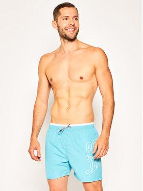 Pepe Jeans Pepe Jeans Badeshorts Fin PMB10243 Blau Regular Fit