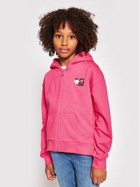 Tommy Hilfiger Tommy Hilfiger Sweatshirt Flag Print KG0KG05765 D Rosa Regular Fit
