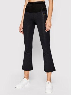 Deha Deha Текстилни панталони B44216 Черен Slim Fit