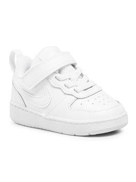 Nike Nike Обувки Court Borough Low 2 (Tdv) BQ5453 100 Бял