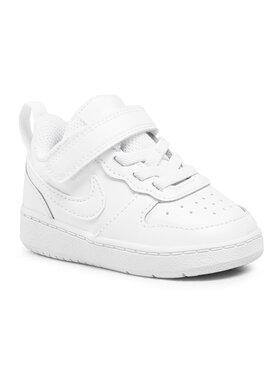 Nike Nike Παπούτσια Court Borough Low 2 (Tdv) BQ5453 100 Λευκό