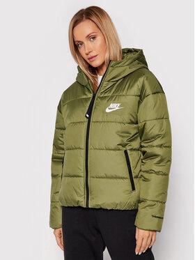 Nike Nike Vatovaná bunda Sportswear Therma Repel DJ6995 Zelená Loose Fit
