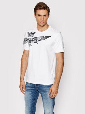 Aeronautica Militare Aeronautica Militare T-shirt 212TS1888J519 Blanc Regular Fit