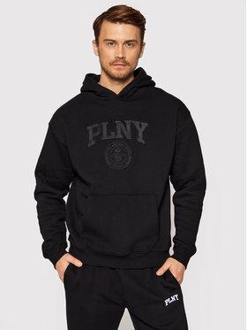 PLNY Textylia PLNY Textylia Суитшърт Stanford 00003 Черен Regular Fit