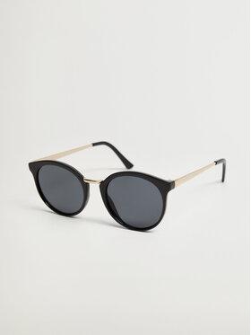 Mango Mango Okulary przeciwsłoneczne Aqua 17040175 Czarny