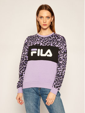Fila Fila Sweatshirt Leah Aop 688421 Violet Regular Fit