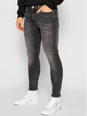 Calvin Klein Jeans Calvin Klein Jeans Дънки Infinite Flex J30J317206 Сив Super Skinny Fit