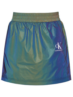 Calvin Klein Jeans Calvin Klein Jeans Spódnica mini J20J216182 Kolorowy Regular Fit