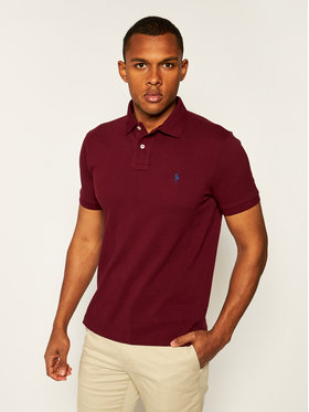 Polo Ralph Lauren Polo Ralph Lauren Polohemd Classics 710680784168 Dunkelrot Slim Fit