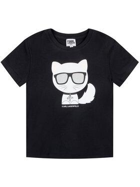KARL LAGERFELD KARL LAGERFELD T-shirt Z15221 M Noir Regular Fit