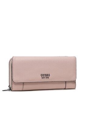 Guess Guess Великий жіночий гаманець SWVM78 81620 Рожевий