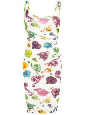 Versace Jeans Couture Versace Jeans Couture Vasarinė suknelė D2HVB439 Spalvota Slim Fit