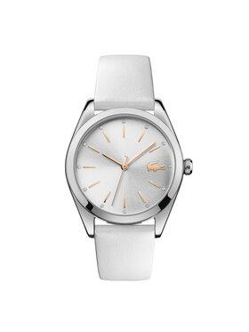 Lacoste Lacoste Zegarek Parisienne 2001099 Biały