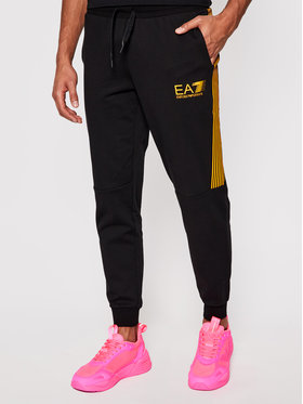 EA7 Emporio Armani EA7 Emporio Armani Spodnie dresowe 3KPP73 PJ05Z 0200 Czarny Regular Fit