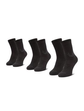 NIKE NIKE Σετ 3 ζευγάρια ψηλές κάλτσες unisex CN0789 Μαύρο