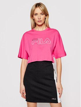 Fila Fila T-Shirt Jamielle 683303 Różowy Oversize
