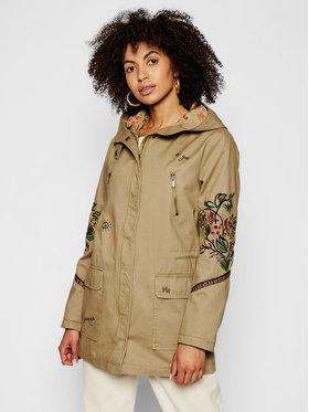 Desigual Desigual Куртка парка Iggy Pop 21SWEW04 Зелений Regular Fit