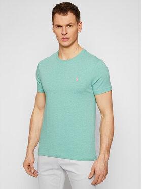 Polo Ralph Lauren Polo Ralph Lauren T-Shirt Ssl 710671438204 Grün Slim Fit