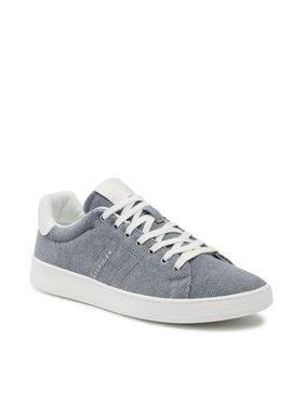 Tommy Hilfiger Tommy Hilfiger Sneakersy Cupsole Court Plant Dye Textile FM0FM03605 Niebieski
