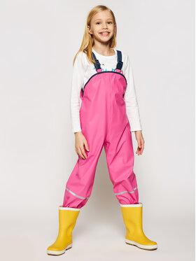 Playshoes Playshoes Kalhoty z materiálu 405424 D Růžová