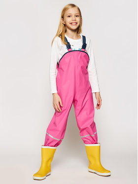 Playshoes Playshoes Панталони за дъжд 405424 D Розов Regular Fit