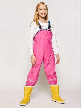 Playshoes Playshoes Текстилни панталони 405424 D Розов