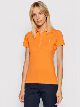 Polo Ralph Lauren Polo Ralph Lauren Polokošeľa 211505654092 Oranžová Slim Fit