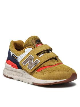 New Balance New Balance Sneakersy PZ997HLL Żółty