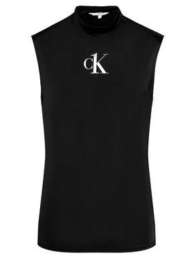 Calvin Klein Swimwear Calvin Klein Swimwear Débardeur Muscle KM0KM00612 Noir Slim Fit
