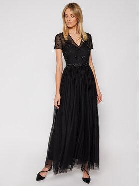 TwinSet TwinSet Večerné šaty 202TP2352 Čierna Regular Fit