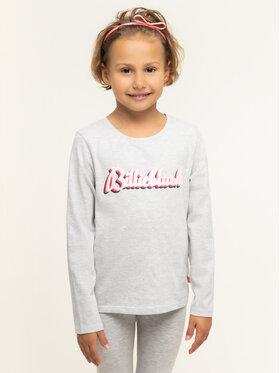 Billieblush Billieblush Μπλουζάκι U15677 Γκρι Regular Fit