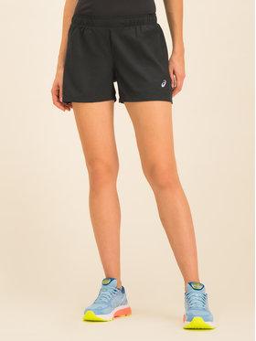 Asics Asics Pantaloni scurți sport Silver 4in 2012A030 Negru Regular Fit