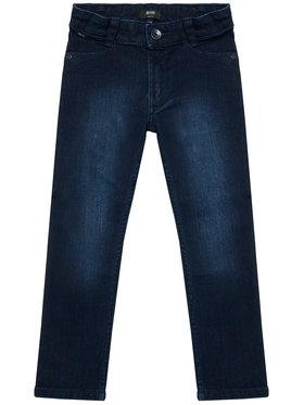 Boss Boss Τζιν J24710 D Σκούρο μπλε Slim Fit