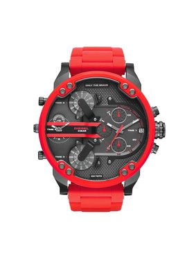 Diesel Diesel Uhr The Daddies Series DZ7370 Rot