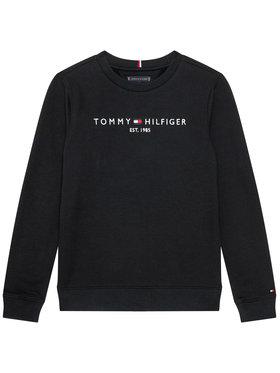 TOMMY HILFIGER TOMMY HILFIGER Bluza Essential KB0KB05797 D Czarny Regular Fit