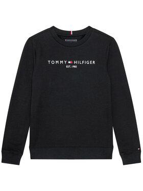 TOMMY HILFIGER TOMMY HILFIGER Mikina Essential KB0KB05797 D Čierna Regular Fit