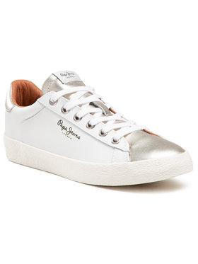Pepe Jeans Pepe Jeans Sneakers Portobello W PLS30695 Alb
