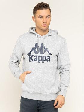 Kappa Kappa Felpa Taino 705322 Grigio Regular Fit