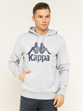 Kappa Kappa Sweatshirt Taino 705322 Grau Regular Fit