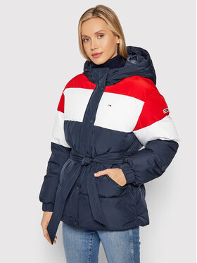 Tommy Jeans Tommy Jeans Giubbotto piumino Tjw Belsted Colorblock DW0DW11097 Blu scuro Regular Fit